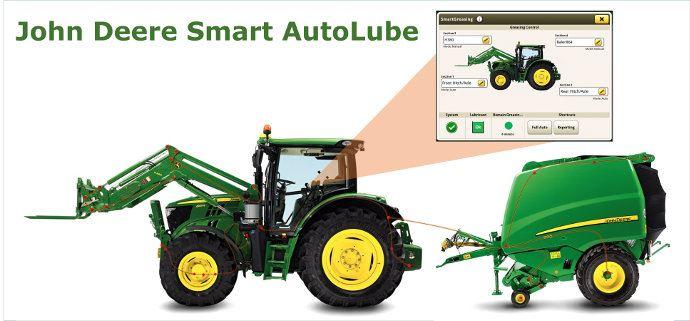 John Deere Smart Autolub, ne graisser que quand il y a besoin!