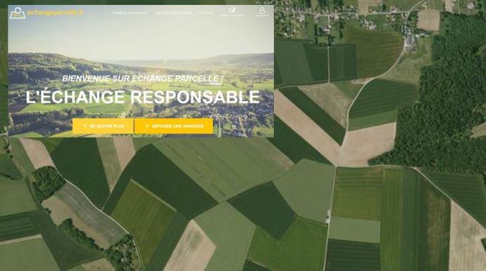 le service en ligne echangeparcelle.fr