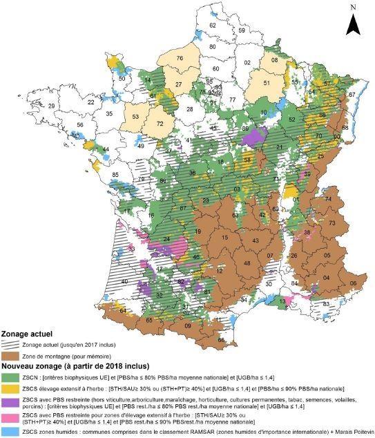 le nombre de communes exclues des zones d favoris es