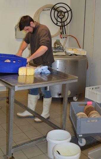 Le lait est transformé en une large gamme de produits