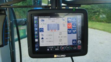 Rollcontrol X30: confort visuel et épandage de précision au rendez-vous
