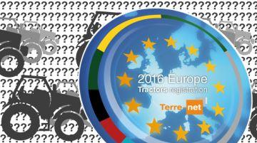 Quel constructeur a immatriculé le plus de tracteurs neufs en Europe en 2016?