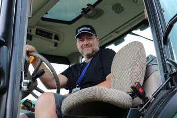 Le Français David Durand 2e meilleur pilote de tracteur d'Europe!