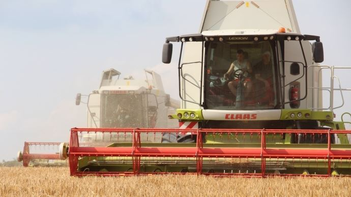 La météo  fait décoller le prix du blé