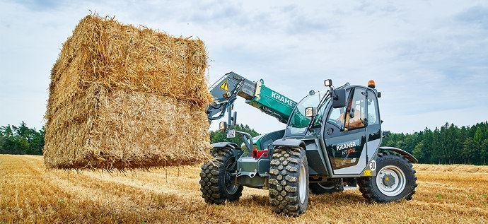 Kramer KT, la gamme de télescopiques agricoles du fabricant allemand