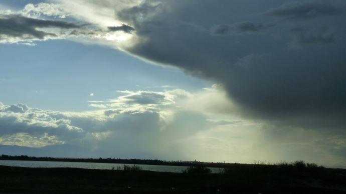 Ciel annoncant l'arrivee de pluies