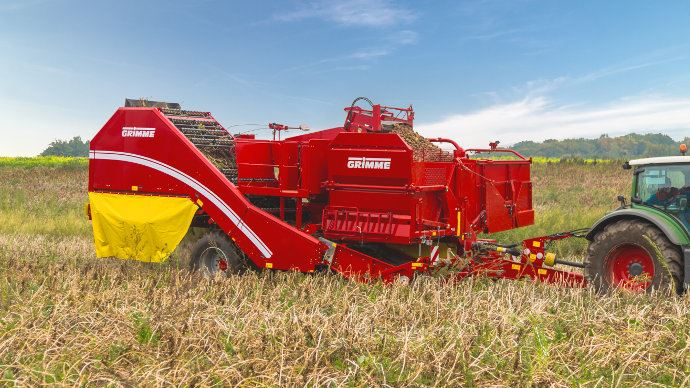 Grimme Evo 290 en version prototype