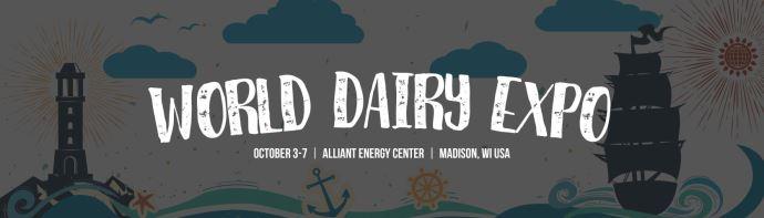 Logo de la world Dairy expo 2017
