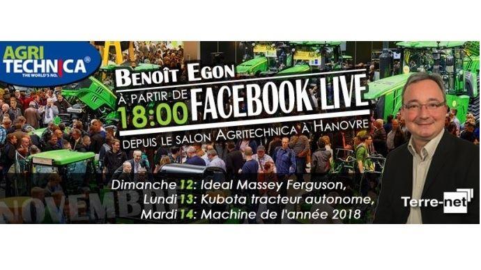 Live Facebook Agritechnica