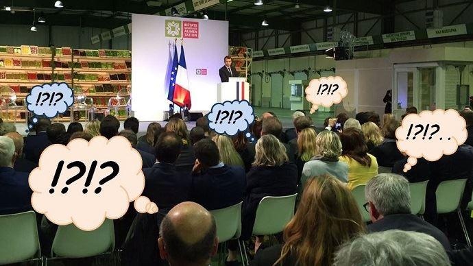 Avec ses annonces du 11 octobre 2017 à Rungis, Emmanuel Macron laisse les agriculteurs très sceptiques.