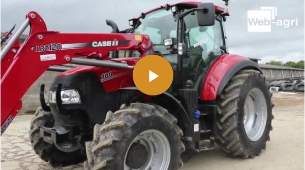 Essai tracteur Case IH