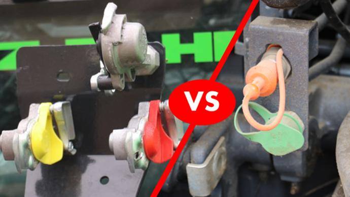 Freinage hydraulique ou pneumatique?