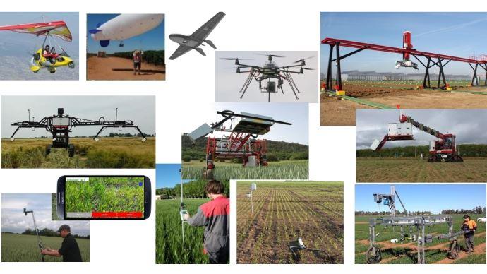 Capteurs de collecte de données en agriculture