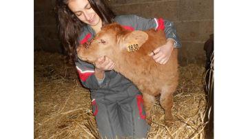Elisa: 18 ans et passionnée d'agriculture