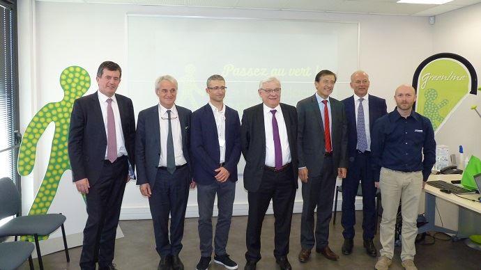 Conférence de presse Phyteurop sur le site de l'ARD