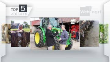 Le John Deeresérie 5R et lesméteils à l'affiche sur Web-agri