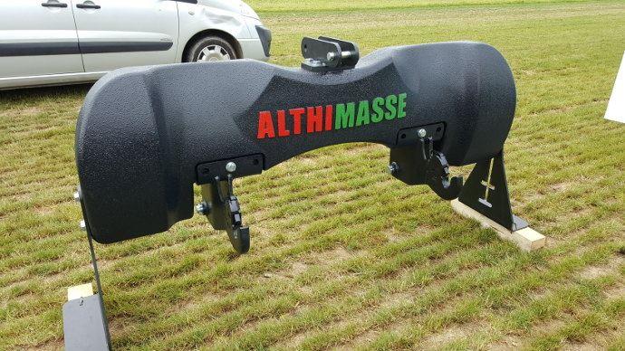 Althimasse, 1200kg qui s'enlève facilement