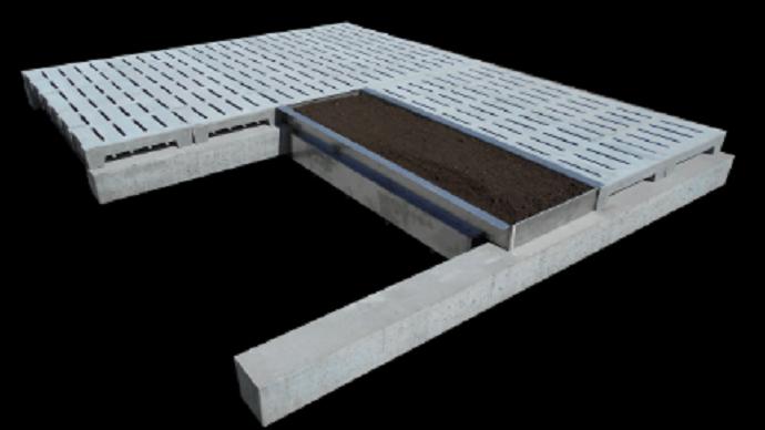 Le module de plancher Well'floor de Fournier favorise le fouissage chez les porcs