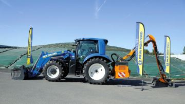 Ça gaze pour le T6.180 Methane Power de New Holland !