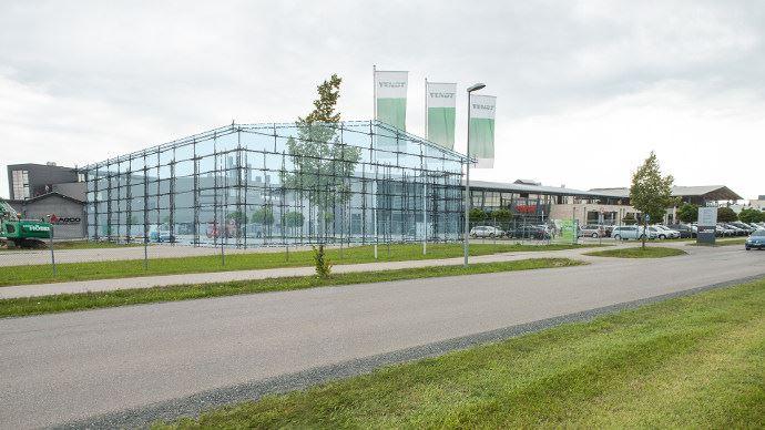 La plus grande salle de l'usine Fendt fera 2500 mètres carrés