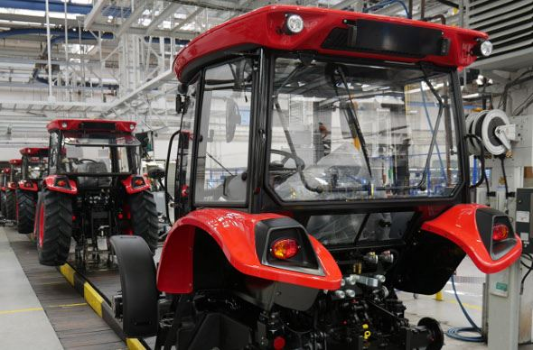 Ligne de production Zetor Major