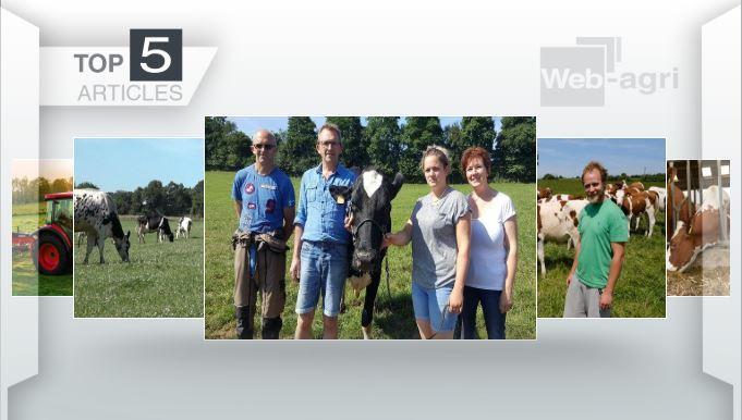 Les cinq articles les plus lus sur Web-agri cette semaine.