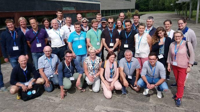 Des éleveurs et des professionnels de la filière laitières sont partis à la découverte de fermes espagnoles du 26 au 28 juin 2018