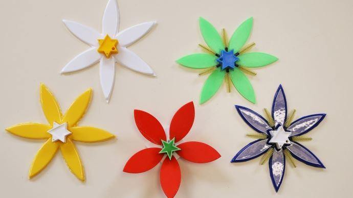 fleurs connectées