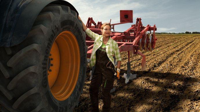 Continental TractorMaster Série 65, le constructeur continu le developpement de sa gamme agraire