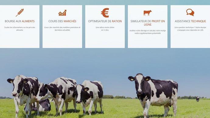 La plateforme en ligne RationMoinsChere.fr permet aux éleveurs de comparer les prix des aliments et prendre les bonnes décisions.