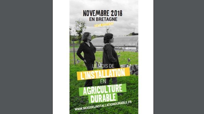 mois del installation en agriculture durable