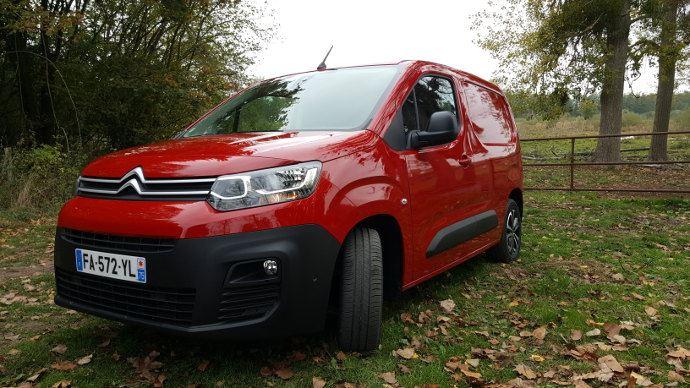 Citroën Berlingo Van, une place à part dans le monde des fourgonettes