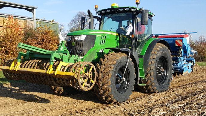 Michelin Zen@Terra est compatible sur tout types de tracteurs