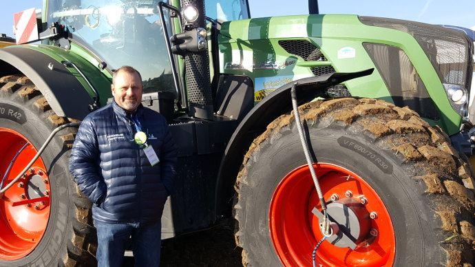 Eddy Bollaert (Aube) a tester Zen@Terra de Michelin depuis plus d'un an