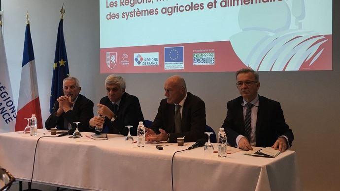 Hervé Morin, président de la région Normandie et des Régions de France, et Alain Rousset, président de la région Nouvelle-Aquitaine, ont mis la pression sur l'Exécutif pour obtenir la gestion complète du second pilier de la Pac.