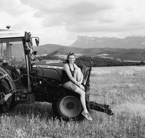 Clémentine, élus Miss France agricole 2019