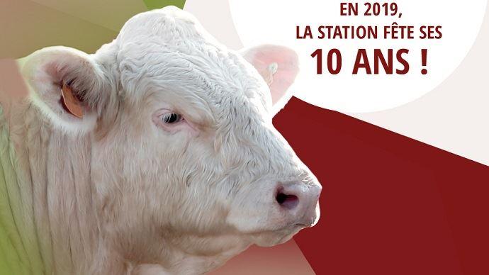 La station d'évaluation du Marault (58) ouvrira ses portes le 24 janvier pour fêter ses 10 ans à l'occasion de la vente aux enchères de reproducteurs.