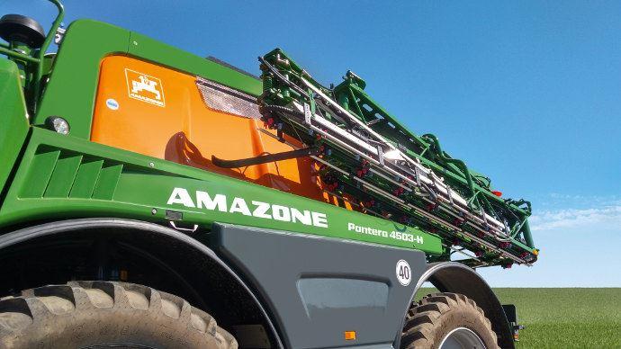 Amazone Panthera 4503 avec nouveau moteur stage 5