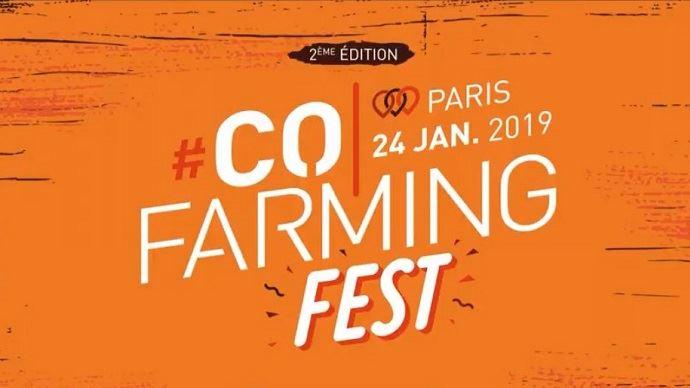 Le #CofarmingFest revient à Paris pour sa deuxième édition jeudi 24 janvier 2019.