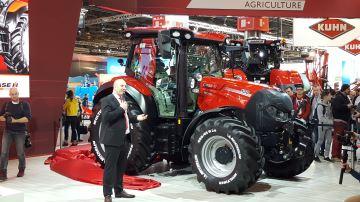 Case-IH Versum CVXDrive, le haut de gamme des tracteurs compacts