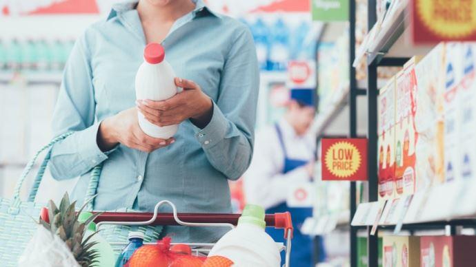 Lait supermarché