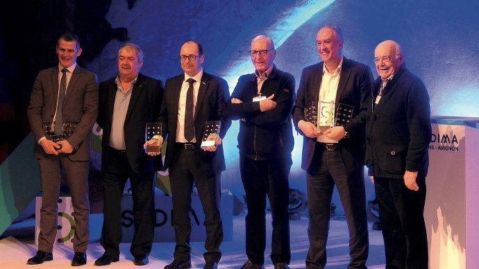 Les anciens présidents du Sedima ont également récompensés les efforts de Deutz-Fahr, Massey Ferguson et New Holland avec des récompenses d'argent et de bronze.