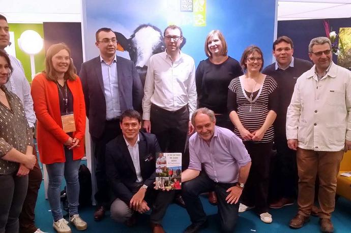 presentation livre christophe dequidt le tour de france des jeunes talents del agriculture