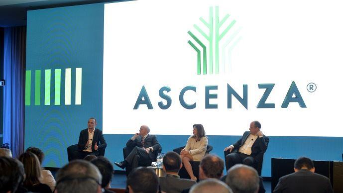 Table ronde organisée lors du lancement officiel d'Ascenza (João Martins, Eric Van Innis, Mónica Teixeira et Rui Correia)