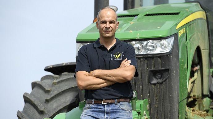 Arnaud Rousseau est producteur de grandes cultures à Trocy-en-Multien. Il est président de la Fop, section spécialisée de la FNSEA rassemblant les producteurs d'oléoprotéagineux, et président du groupe Avril.