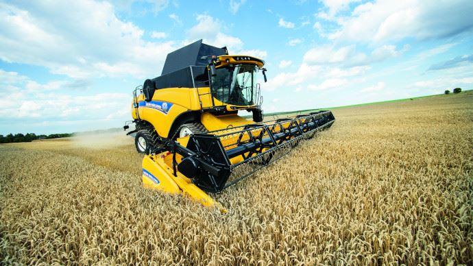 Moissonneuse-batteuse New Holland CX 7.90