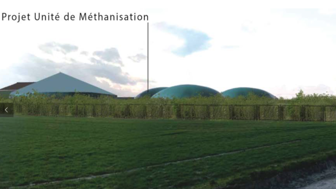 Unité de méthanisation Biogy