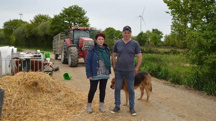 Un champ d'éoliennes met à mal notre santé et celle de notre troupeau