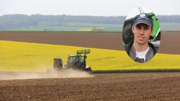 Rémi Gillet: «Un tracteur intuitif, maniable et précis»