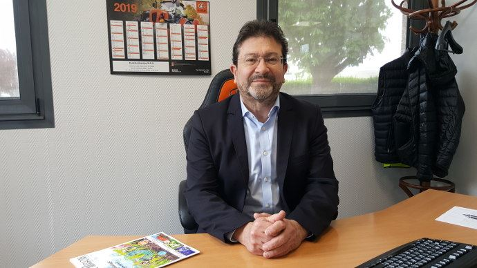 Hervé Gérard-Biard le dirigeant de Kubota Europe est Français